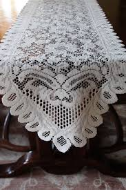 Lace Table Table Runner