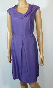Antonio Melani Amethyst Purple New Cowl Neck Short Work Office Dress Size 12 L 73 Off Retail