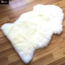 white fur rug faux furry small grey rugs full size of target accent large gray area