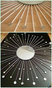 Diy mirror decor Do It Yourself Diy Mirror Over Mirror Sunburst Mirror Frame Instruction diy Decorative Mirror Frame Ideas And Projects Diy How To Diy Mirror Over Mirror Sunburst Mirror Frame Instruction diy