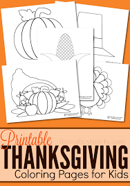 Small Picture Printable Thanksgiving Coloring Pages From ABCs to ACTs