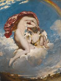 william etty painting venus and cupid descending by william etty