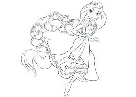 Disney Princesses Coloring Pages To Print Free Printable Princess
