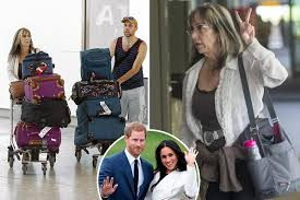 Image result for dooley-markles arrive in London for royal wedding
