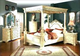 canopy bed king silver design excellent beds hayworth collection queen cool furniture montage poster bed king