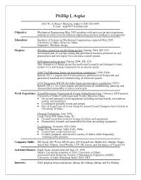 sample resume for experienced mechanical engineer experience resume sample doc sample resume for experienced