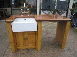free standing kitchen sink units