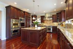 hardwood floors in kitchens pictures cherry cabinets with wood