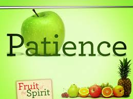 the fruit of the holy spirit patience