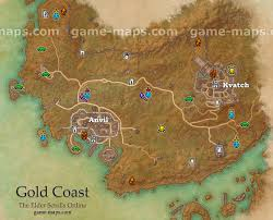 gold coast map the elder scrolls online game maps com Eso Map gold coast zone map the elder scrolls online dark brotherhood dlc eso map guide