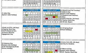 The Year Calendar 2018 19 School Year Calendar Approved Thewire