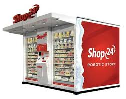Robot Vending Machine Fascinating NY State University At Albany Pacts Shop48 For 48 Robotic CStores