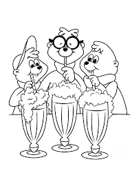 Small Picture Alvin and the chipmunks coloring pages printable ColoringStar