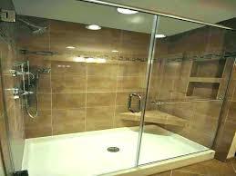 fiberglass vs tile shower tile over plastic shower pan shower pan vs tile shower pan vs tile image of fiberglass tile fiberglass shower floor