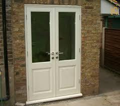 wooden french doors patio door exterior london wood double rustic double french patio doors outswing