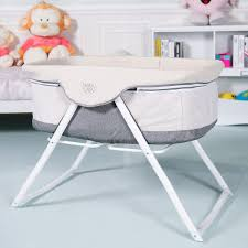 Costway: BabyJoy Foldaway Baby Bassinet Crib Newborn Rocking Sleeper ...