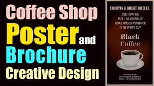 How To Make A Design On Coffee How To Make A Minimalist Design Coffee Shop Poster And Brochure In Adobe Illustrator