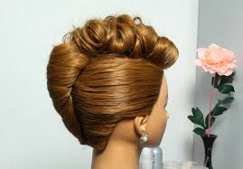 French Twist Hair Style french twist hairstyle for medium hair prom updo tutorial youtube 3009 by stevesalt.us