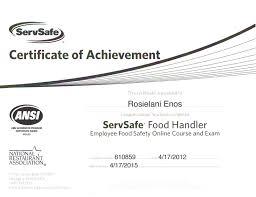 az food handlers card