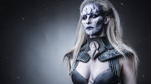 white walker special fx makeup cosplay tutorial