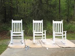 elegant and comfortable outdoor rocking chairs for your patio decor idea natural white outdoor rocking