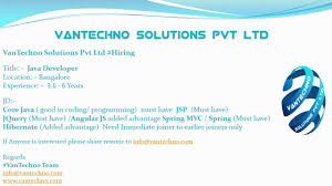 Vantechno Solutions Linkedin