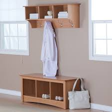 Coat Rack With Bench Seat Mudroom Entryway Coat Tree Hall Storage Bench Seat Slim Hall Tree 85