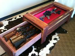 build a coffee table display case