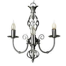 brushed chrome chandelier satin ceiling light dual mount pendant uk