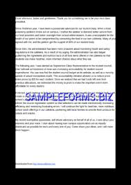 Sample High School President Speech Docx Pdf Free — 1 Pages