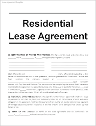 simple rental agreement florida lease template florida
