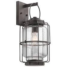 outdoor candle lanterns lowes. kichler montview 17.25-in h weathered zinc medium base (e-26) outdoor candle lanterns lowes -
