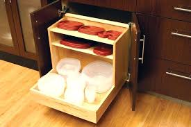diy pull out drawer cabinet drawers easily plastic or glass containers and lids in a diy pull out