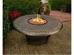 charleston gas firepit table