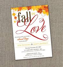 top 25 best fall rehearsal dinners ideas on pinterest fall Diy Wedding Invitations Fall Theme fall in love rehearsal dinner invitations! autumn wedding diy Fall Color Wedding Invitations