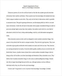 of college essays college education argumentative essay