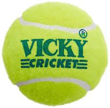 Cosco Light Weight Cricket Ball Vicky Cricket Tennis Ball Light Weight