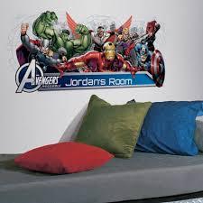 Avengers Assemble Headboard Wall Decals