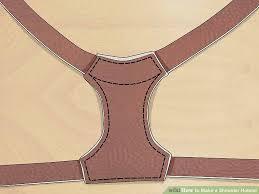 Shoulder Holster Pattern