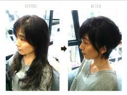 くせ毛を生かした髪型女性のショート編 Throughout カット 女性 髪型