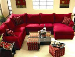 sectional sofa with recliner and chaise lounge couches couch red sofas c red microfiber recliner home theater sectional