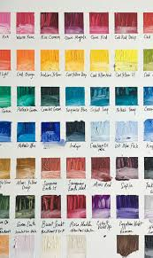 R Color Chart R And F Pigment Stick Color Chart Melissa Carmon