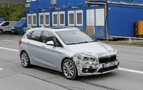 2018 bmw active tourer. simple 2018 2018 bmw 2 series active tourer spied with cool new headlights to bmw active tourer n