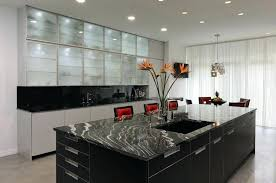 black kitchen cabinets with white marble countertops. Black Marble Countertops Kitchen Cabinets With White E
