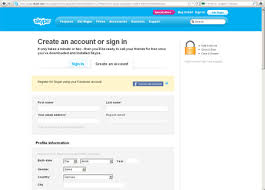 Making Skype Account Create A Skype Account