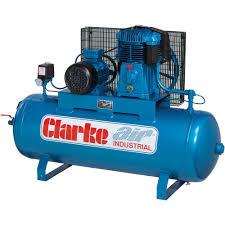compresor industrial. clarke se36c270 (wis) industrial air compressor (400v) compresor