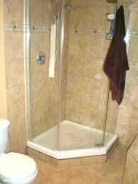 square corner shower kit 36 corner shower enclosure kits small stall best ideas on tiled