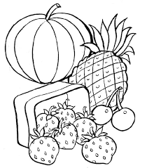Small Picture Printable 20 Healthy Food Coloring Pages 10126 Free Printable