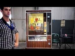 Wurlitzer Vending Machine Impressive Wurlitzer Hot Drink Vending Machine YouTube