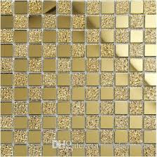 2018 shiny glass mosaic tiles 12x12 home decor tiles golden mirror surface glass mosaics bathroom kitchen living room mosaic tile lsmr02 from landsmosaic